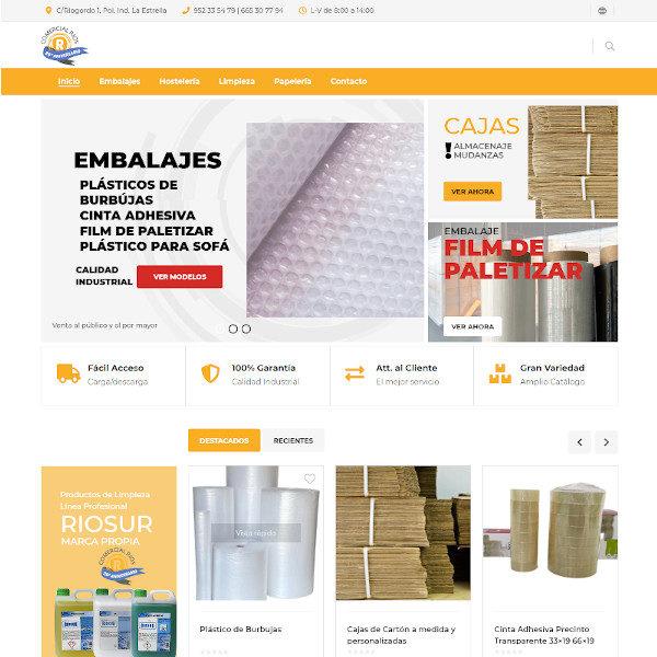 Agencia de Diseño Web y tiendas online en Huelva y Málaga, Páginas web